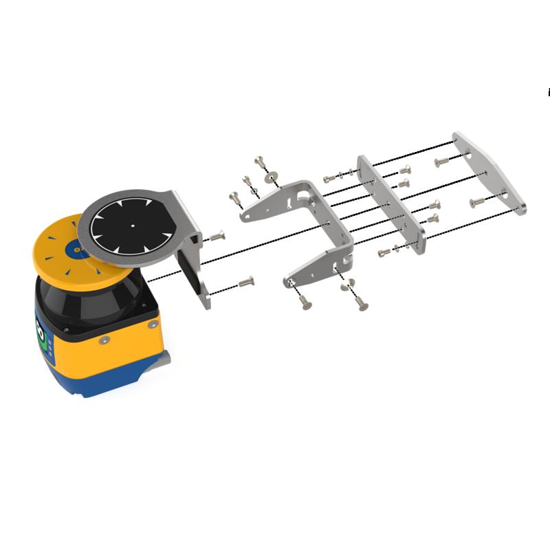 Figure 1: Laser Scanner bracket