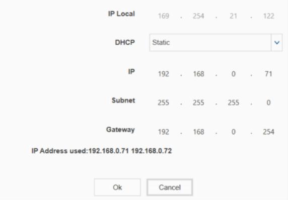 Figure 3: IP and IP Local Addresses