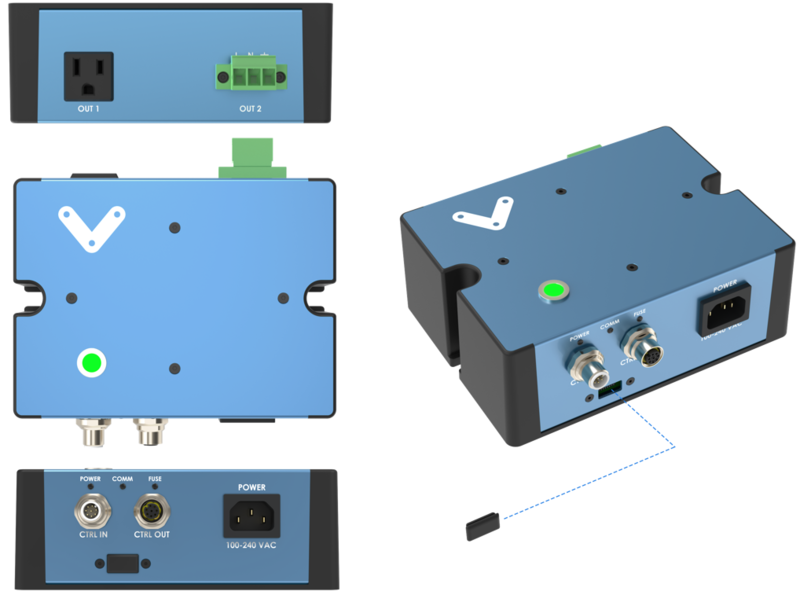 Figure 1: Smart Power Switch Physical interface.