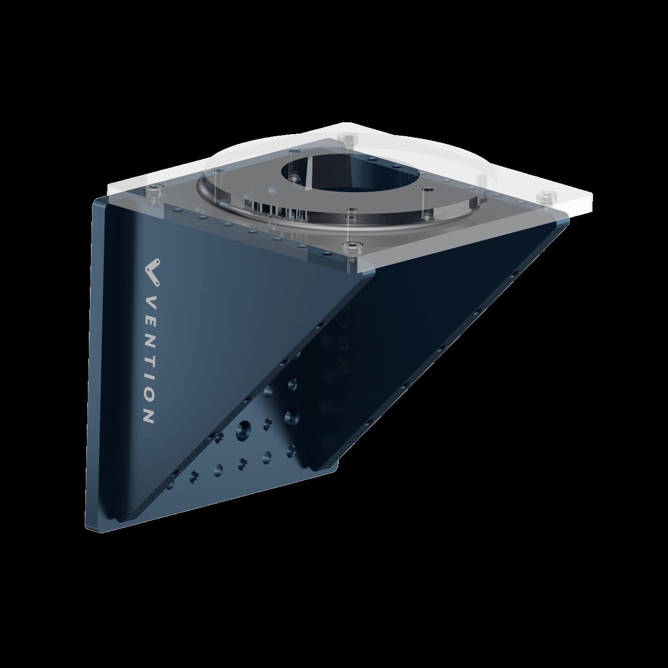 Configuration 2: Horizontal mount.