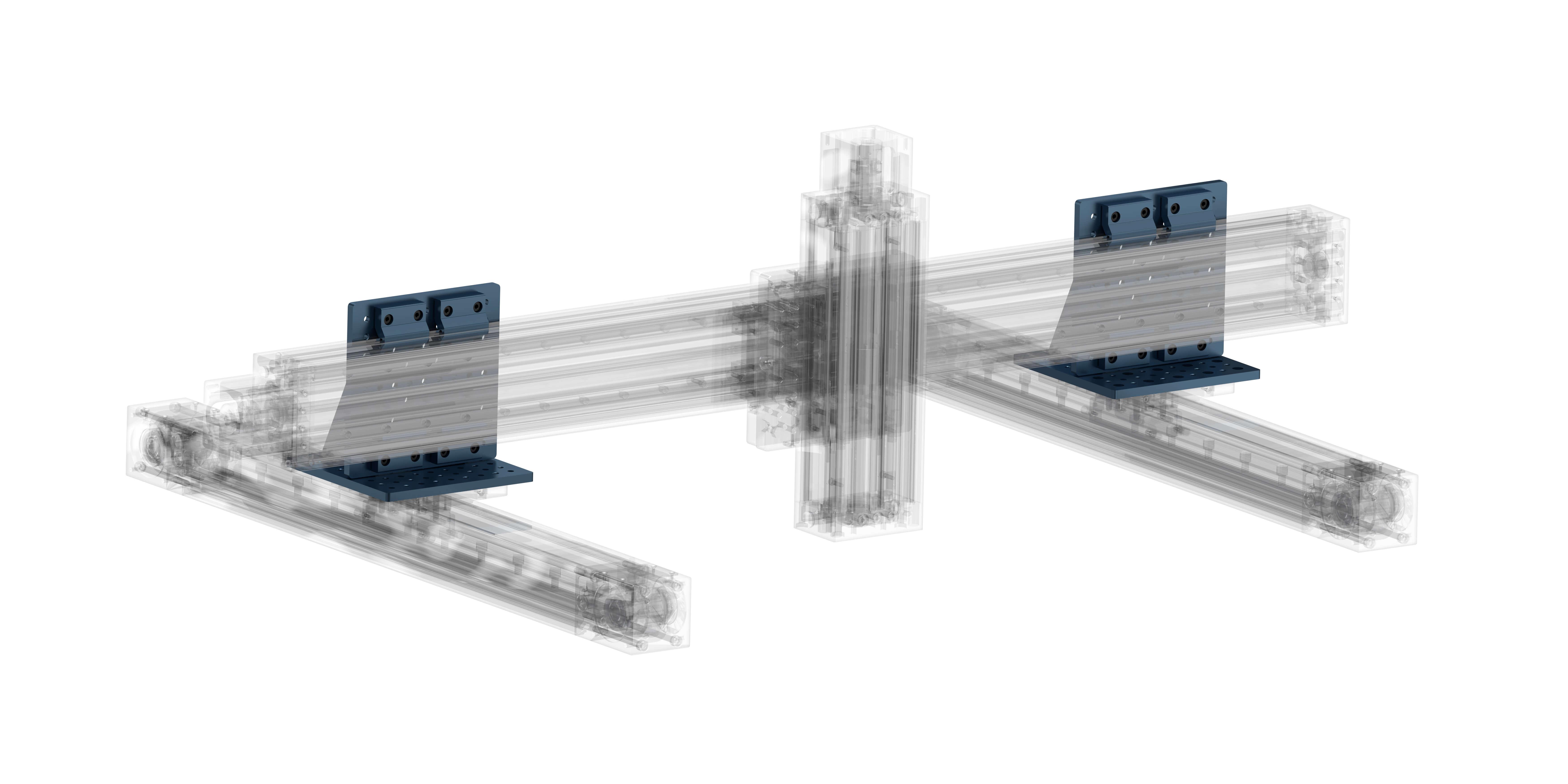 Example 1: Three-axis machine mount configuration.
