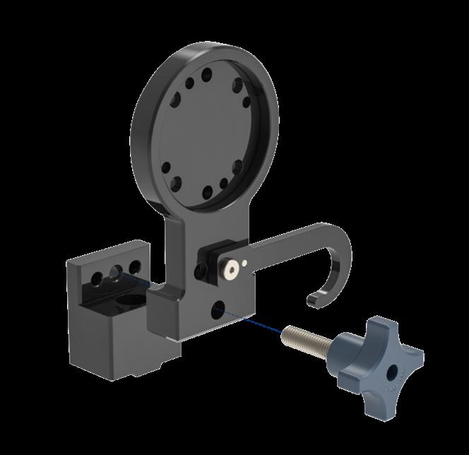 Figure 4: Locking female and male robot calibration