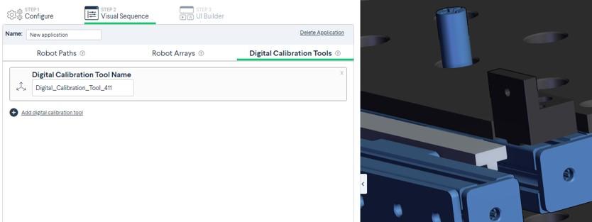 Figure 5: Digital calibration tool