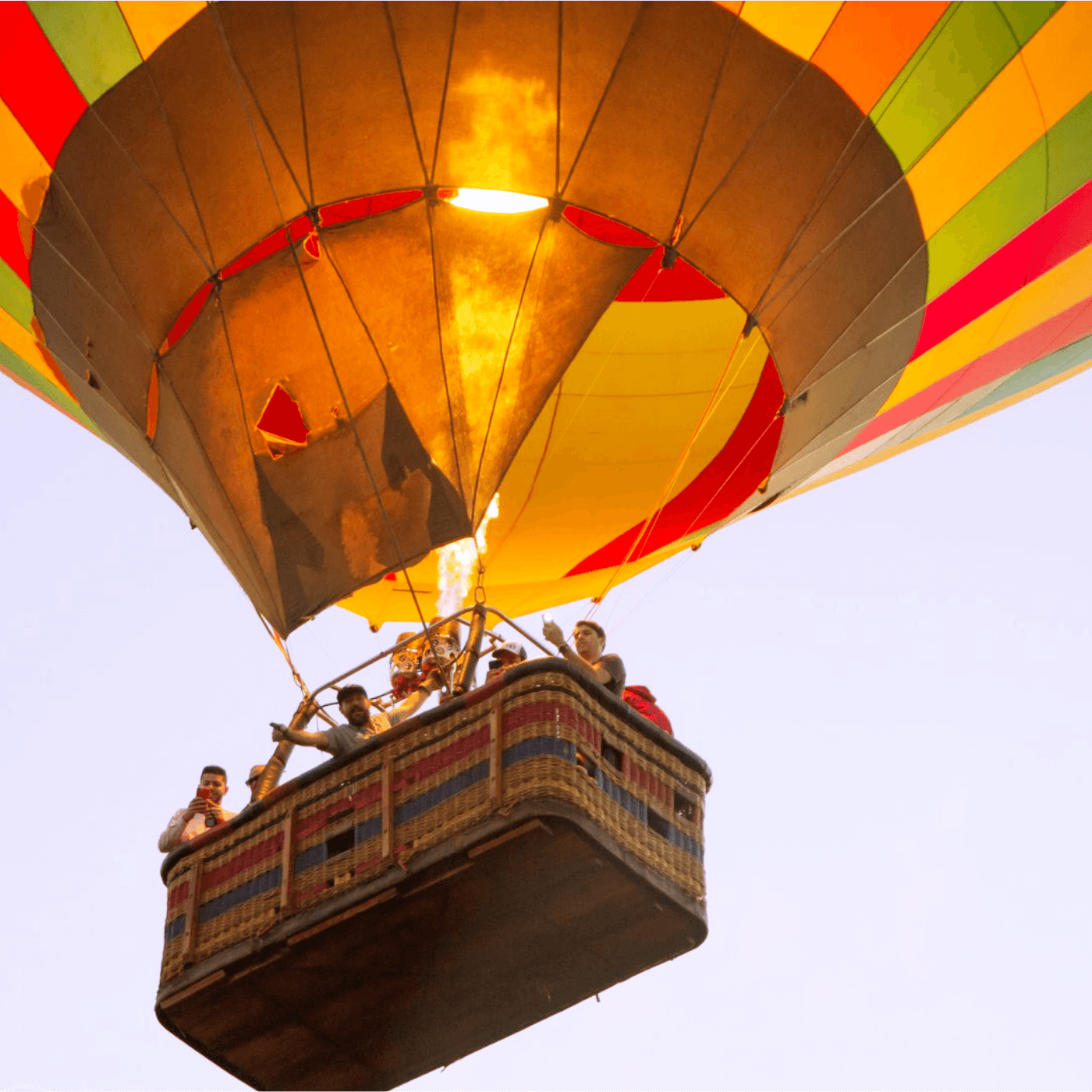 Pacote Família passeio de Balão em Boituva-SP (Agende sua data)