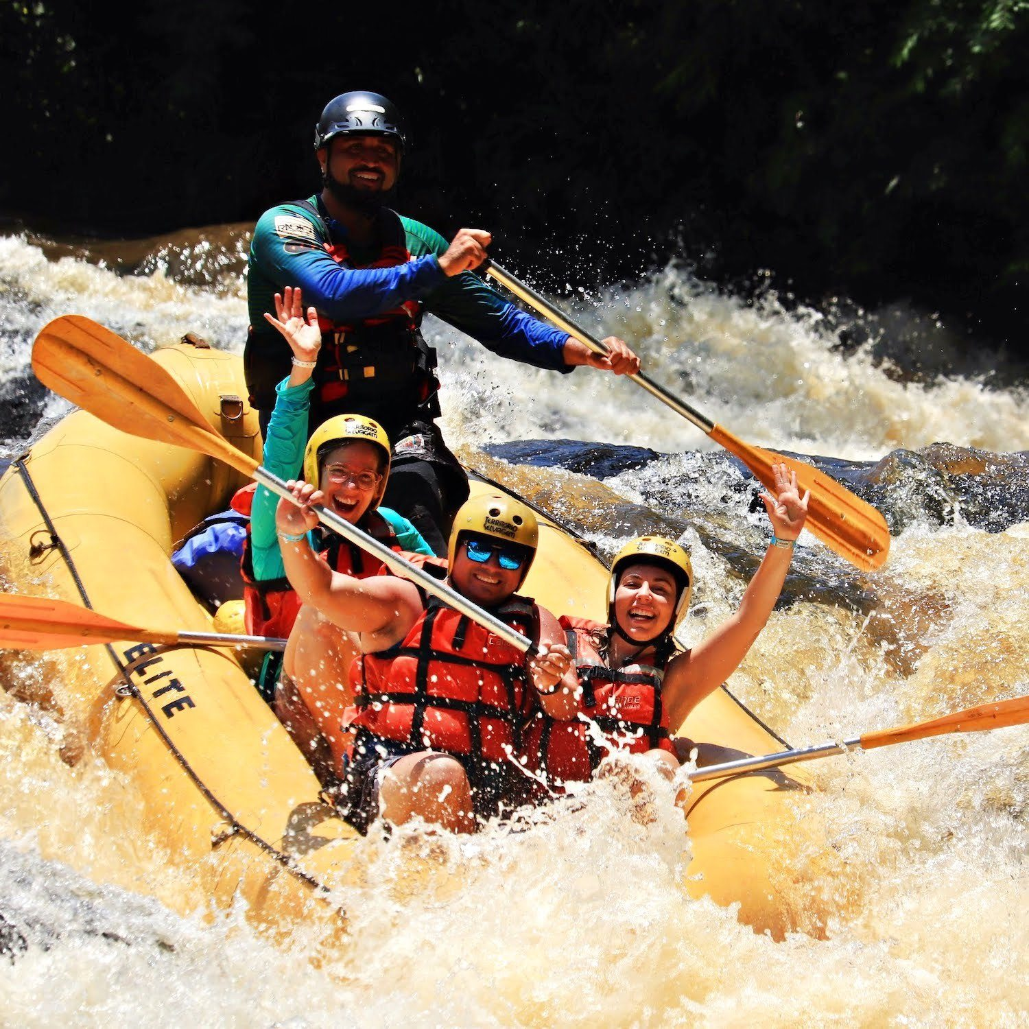 Rafting Elite - Brotas -SP (Agende sua Data)