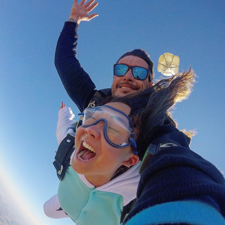 Salto de Paraquedas com Selfie VÍDEO em Boituva-SP (Agende sua data)