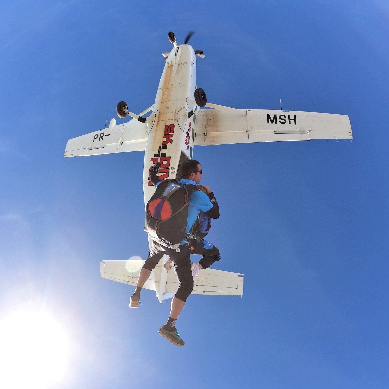 Salto de Paraquedas FUN em Boituva-SP (Agende sua data)