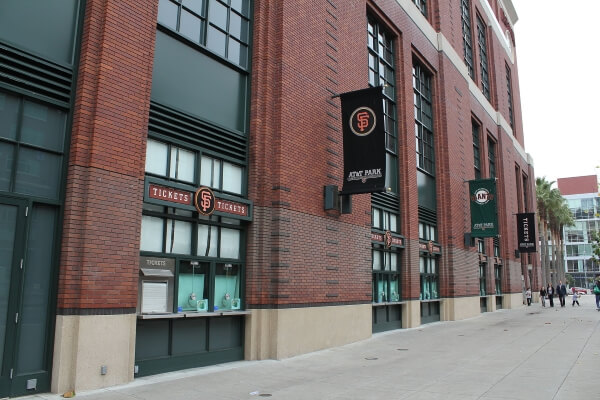 Oracle Park, home of the San Francisco Giants