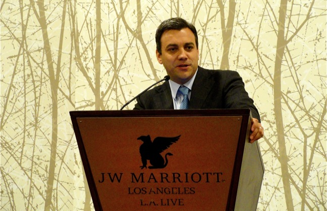 Sporting Club CEO Talks Soccer with the ALSD Crowd