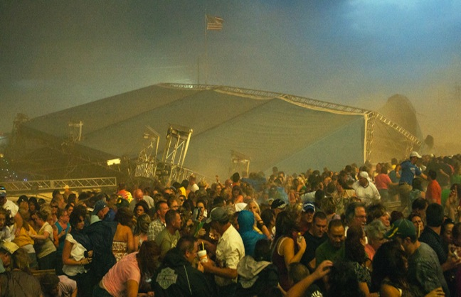 Stage Collapse at Indiana State Fair Kills Five