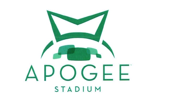 Signs Go Up at UNT's Newly Named Apogee Stadium