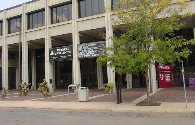 Naming Rights: U.S. Cellular Center Asheville (N.C.)