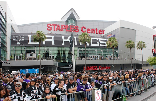 L.A. Cheers Its Champions