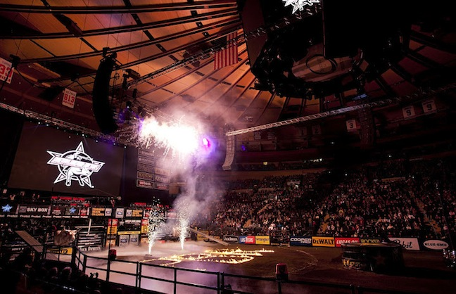 Professional Bull Riders Bucking Attendance Records