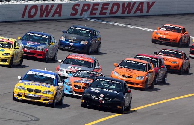 Ovations Renews Iowa Speedway Contract
