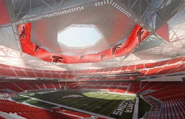 Designs For New Atlanta Stadium Released