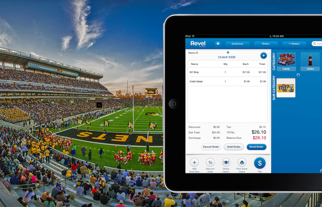 New ASU Stadium Installs iPad POS