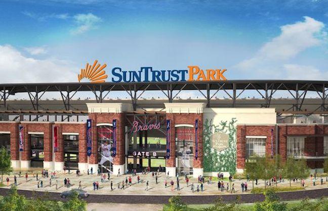 Braves, SunTrust Announce Naming Rights Deal