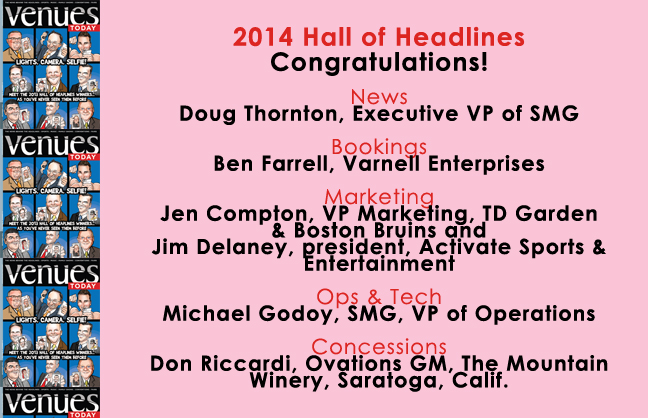 Congratulations 2014 Hall of Headlines Winners!