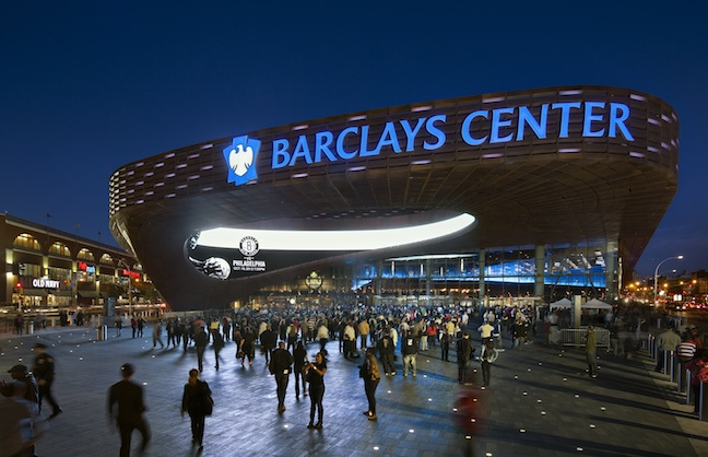 Barclays Center Programming Pumped Up