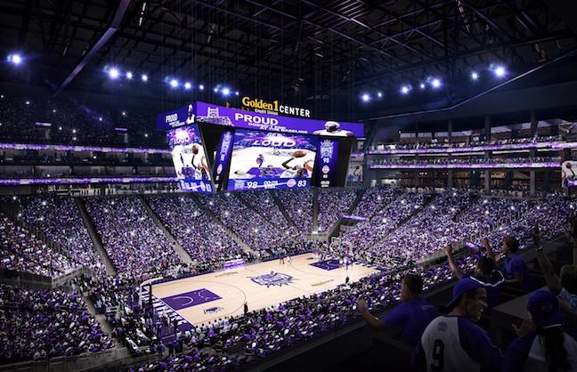 NBA'S First 4K Ultra HD Board Set for Sacramento