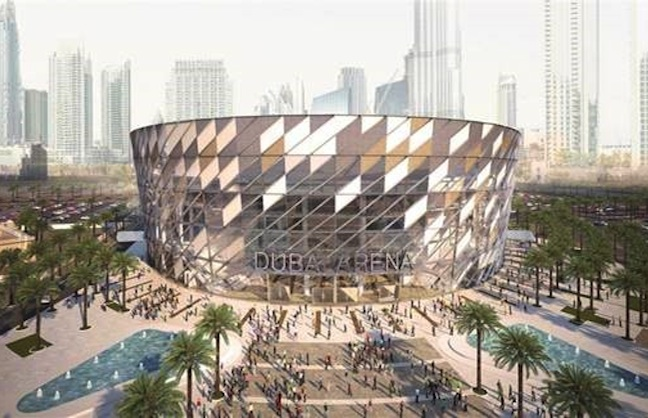 AEG Ogden to Manage Dubai Arena
