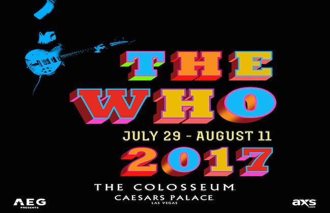 The Who Knocking on Vegas' Door