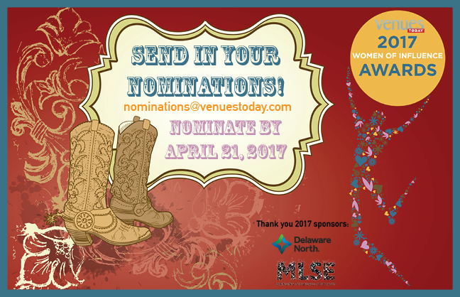 Nominate for 2017 Women of Influence by April 21, 2017!