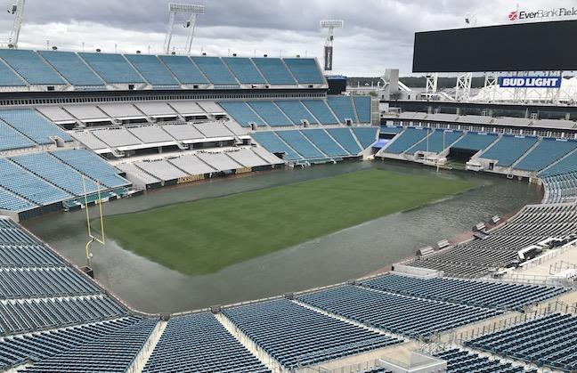 Jacksonville Battered But Not Beaten