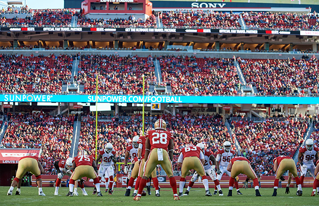 Levi's Stadium Brings In Levy