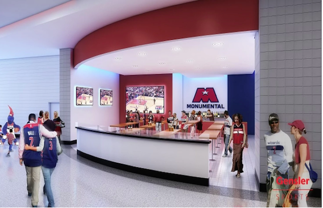Capital One Arena's Makeover Plans Revealed