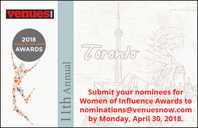 Nominate your 2018 Women of Influence!