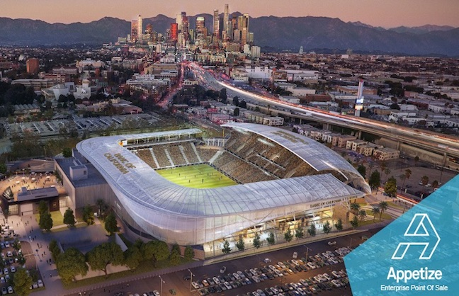 LAFC Chooses Appetize For POS Services