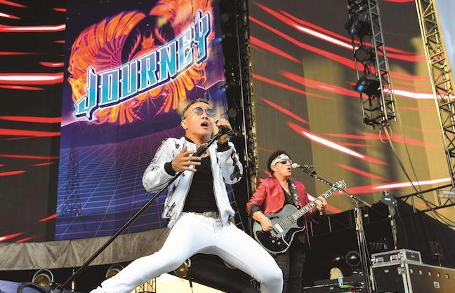 Veteran rockers hit $50 million, halfway mark