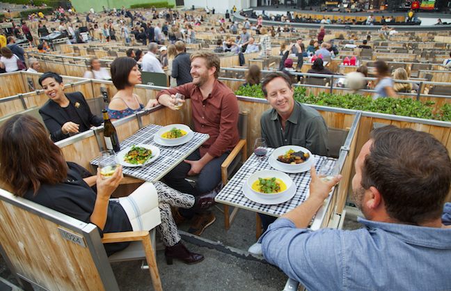Sodexo Makes Gains At Hollywood Bowl