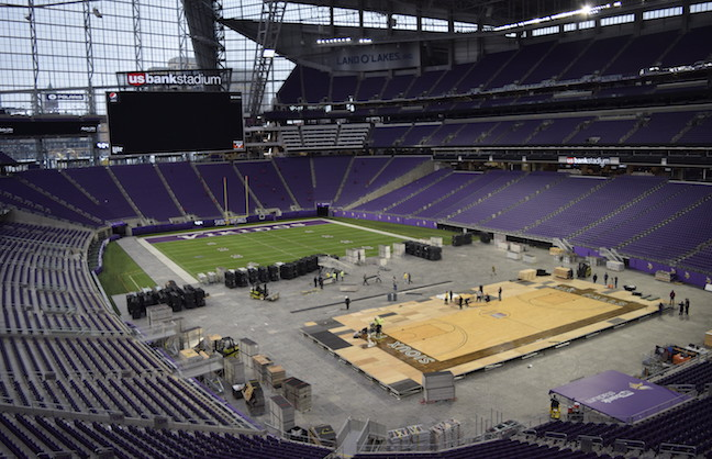 Minneapolis Warms Up For Final Four