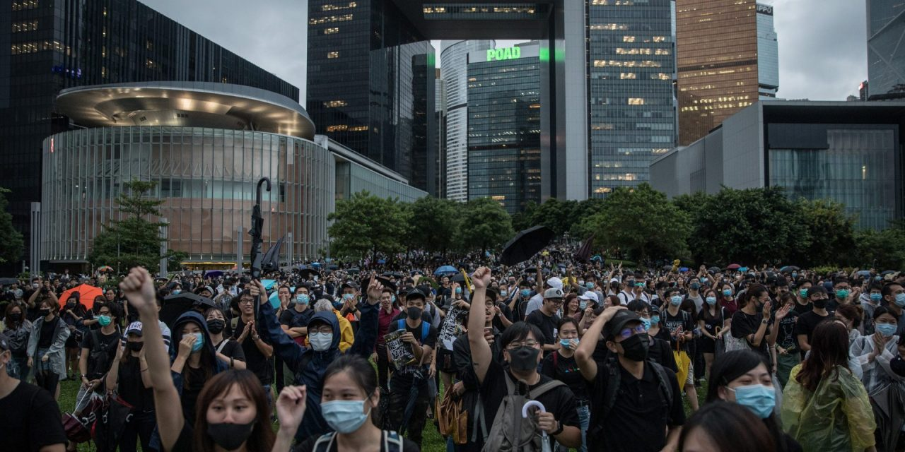 Despite protests, HKCEC remains open