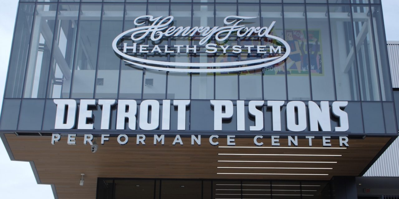 Pistons Use Practice Facility as Contact Point
