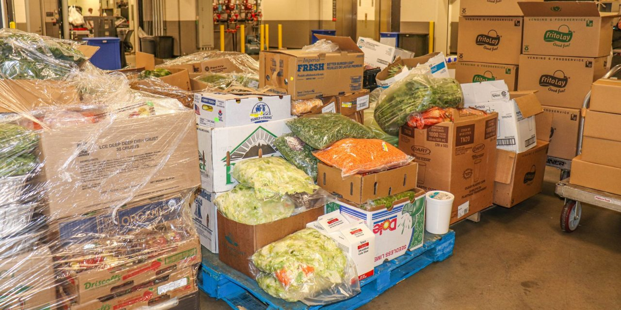 Venue Concessionaires Donate Tons of Food