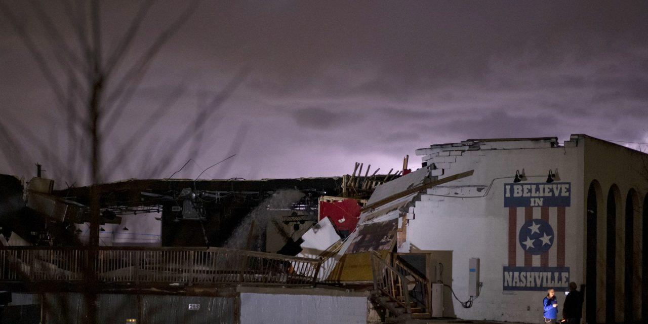 Nashville's Basement East Damaged In Tornado