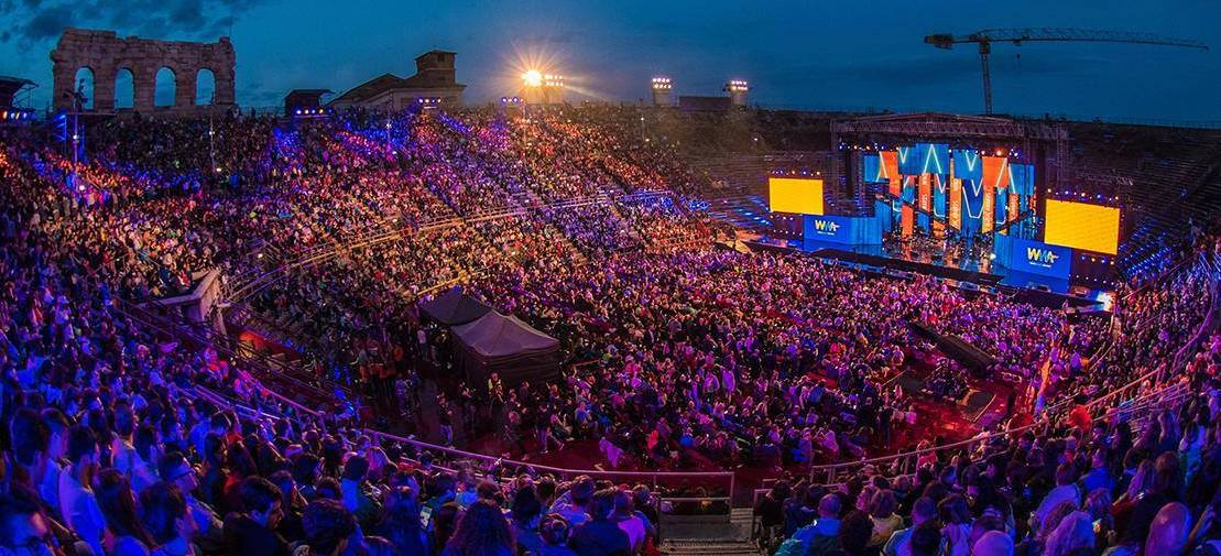 Verona Arena to Host a Week of Concerts