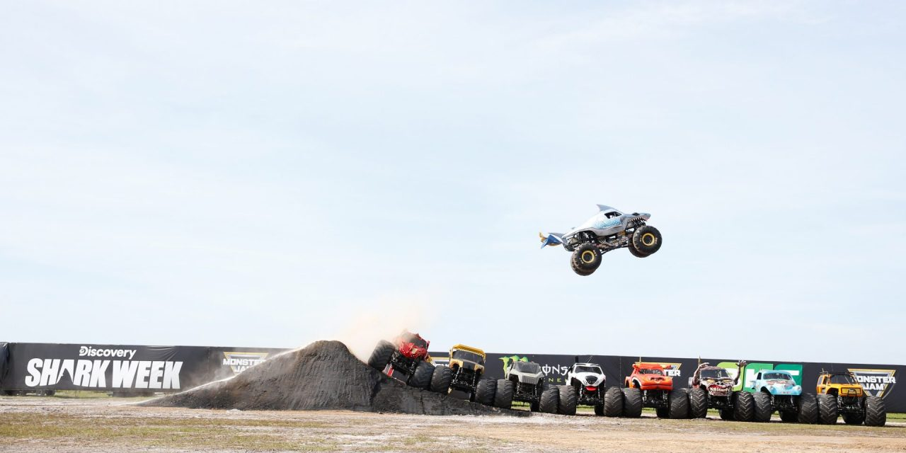 Monster Jam Jumps The Shark In A Good Way Venuesnow