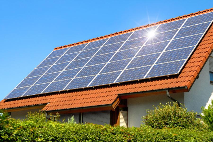 10 zonnepanelen inclusief montage