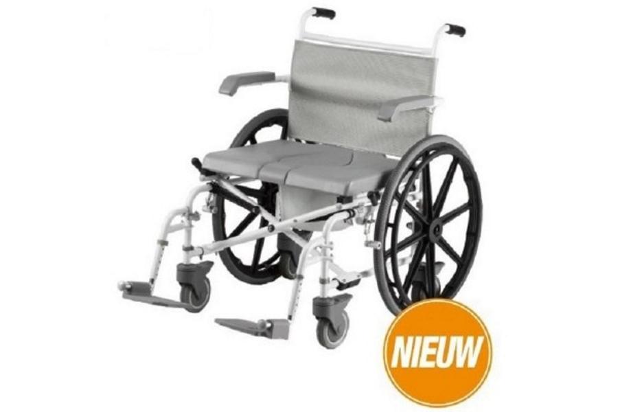 Douche toilet rolstoel