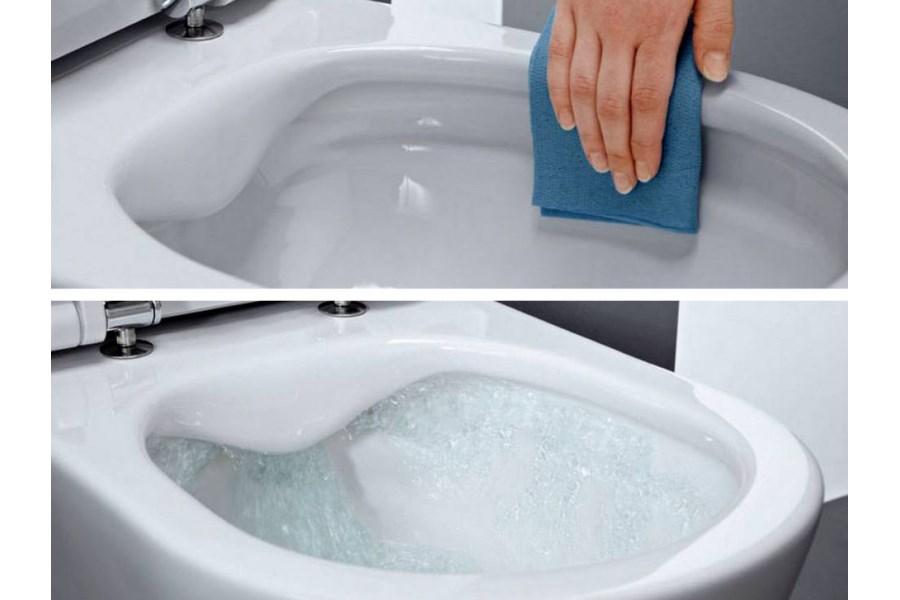 Toilet Zonder Spoelrand : Beste toilet zonder rand test randloze wc pot vergelijk