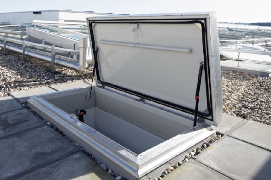 Dakluik maken plat dak dakterras prijzen storax gorter en trap