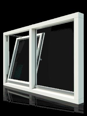 Extreem Draai kiep raam in bestaand kozijn - Verbouwkosten HA15