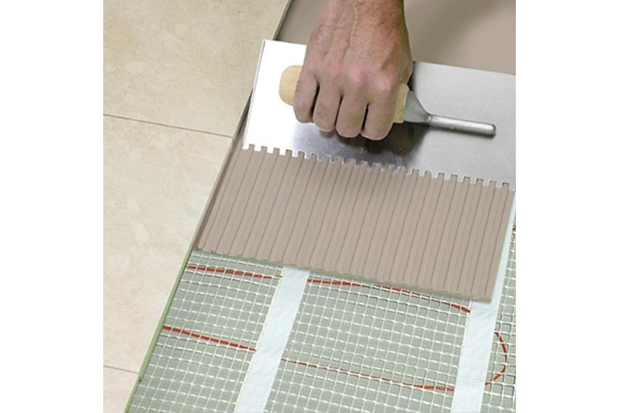 Vloerverwarming Badkamer Elektrisch : Beste elektrische vloerverwarming test nadelen verbruik met