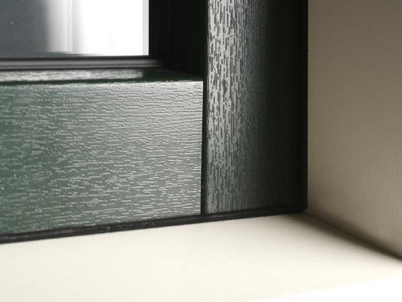 Houtlook oppervlakte met houtnerf