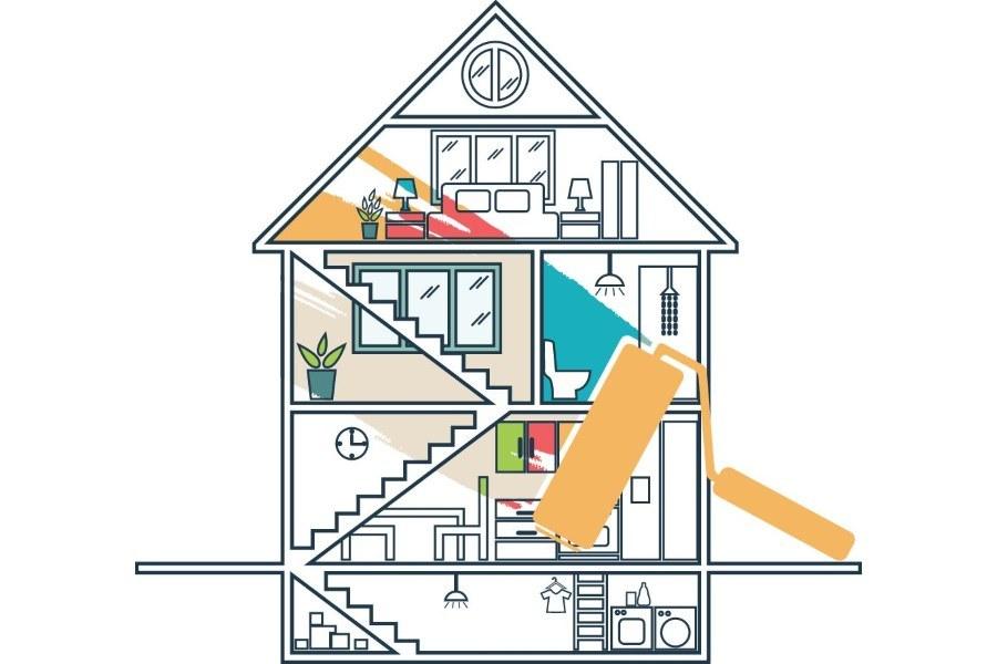 huis laten verven